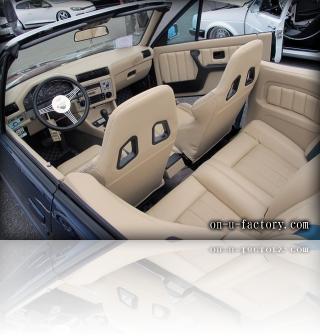 BMW E30 デモカー シート <京都カスタム・カー・オーディオ オンユーファクトリー>