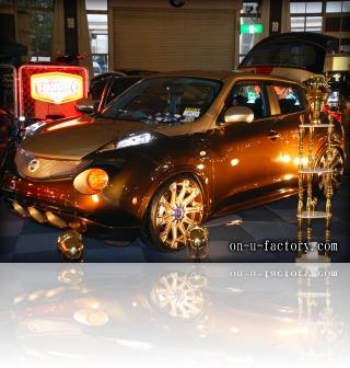 日産 ジュークニッサン JUKE デモカー X5 <京都カスタム・カー・オーディオ オンユーファクトリー>