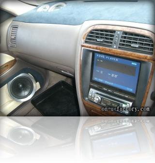 ニッサン レパード デモカー モニター埋め込み&ドアスピーカー <京都カスタムオーディオ オンユーファクトリー>