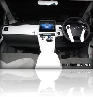 TOYOTA Prius トヨタ プリウス Apple iPadタブレット埋め込み デモカー 内装 <京都カスタム・カー・オーディオ オンユーファクトリー>