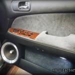 グロリア ドアスピーカーインストール:6inchミッドバススピーカーバッフル製作(角度付き・こっち向きスピーカー) アルミリング製作 <京都カスタムオーディオ オンユーファクトリー>