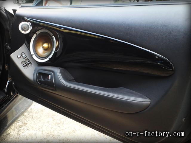 スープラ ドアスピーカーインストール:6inchミッドバススピーカーバッフル製作(角度付き・こっち向きスピーカー) ツィーターマウント 塗装仕上げ