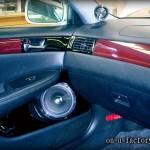 ウィンダム ドアスピーカーインストール:7inchミッドバススピーカーバッフル製作(角度付き・こっち向きスピーカー) ドアトリム加工 塗装仕上げ <京都カスタムカーオーディオ オンユーファクトリー>
