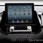 日産ウイングロード Apple iPad埋め込み(脱着可能)