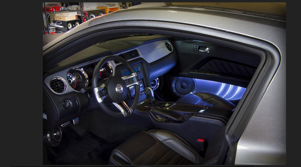 カスタム カー オーディオ onUfactory フォード マスタング Ford MUSTANG 運転席廻りスピーカー